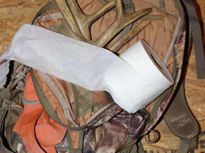 Toilet Paper Backback