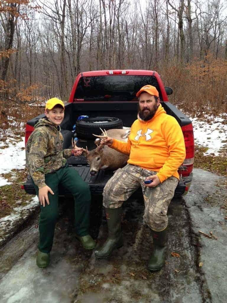 Vermont 8 pt deer