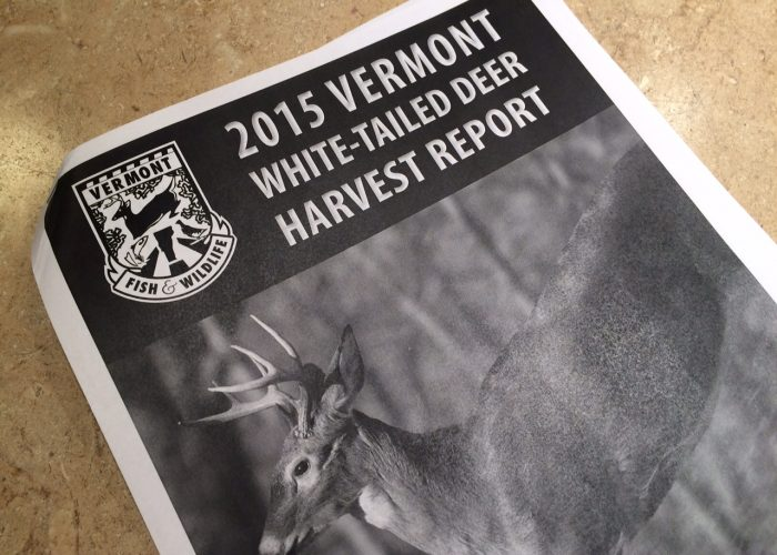 2015 Vermont Deer Harvest Report–7 Observations