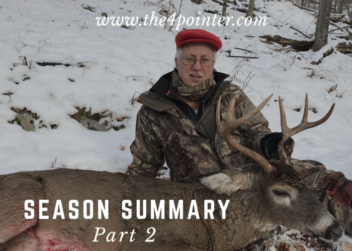 2016 Hunting Season Summary – Part 2