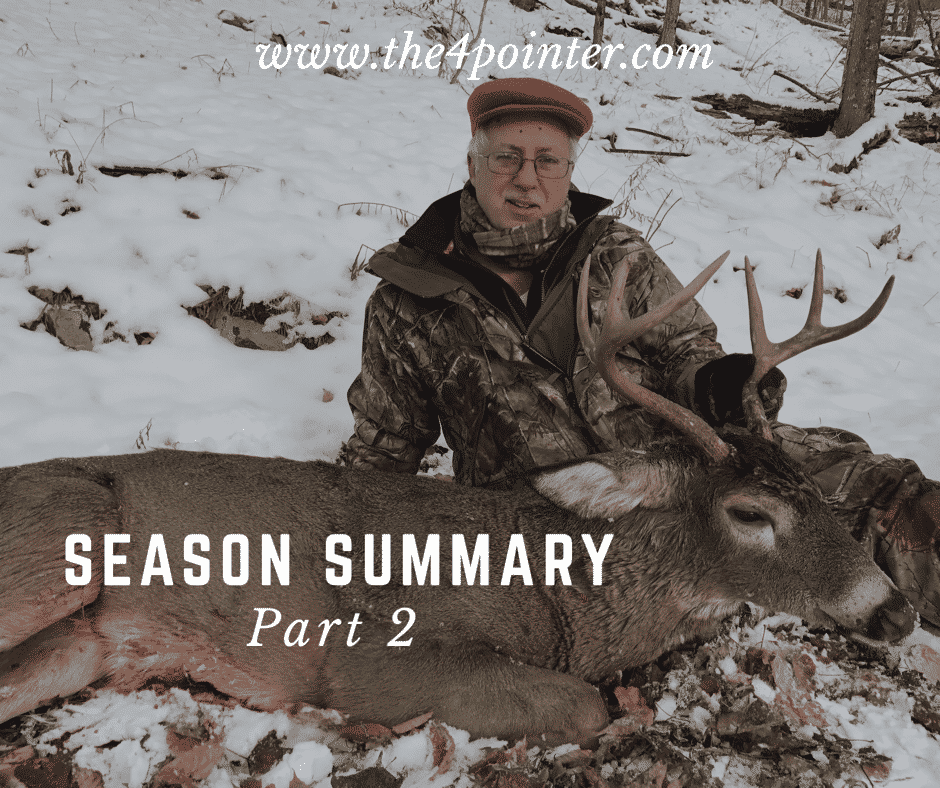 Hunting Season Summary Vermont