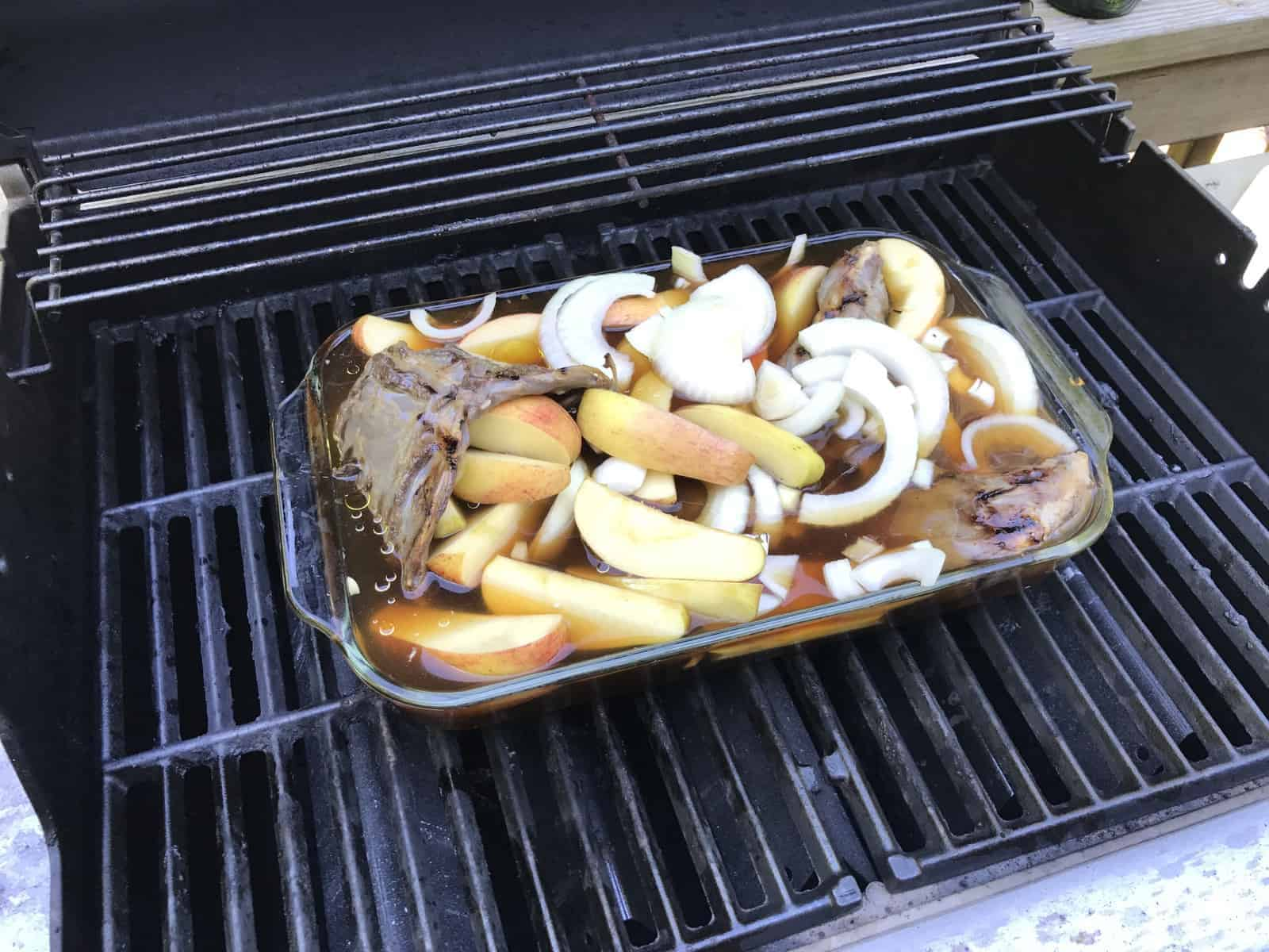 Grilled Woodchuck Recipe
